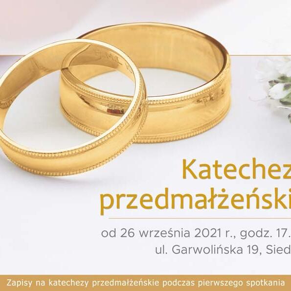 Katechezy przedmałżeńskie